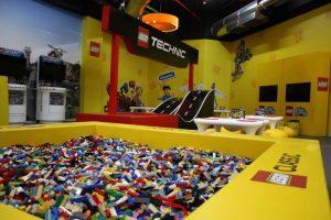Espacio de juego de Lego