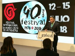 Presentación del Festival do Mundo Celta en Fitur